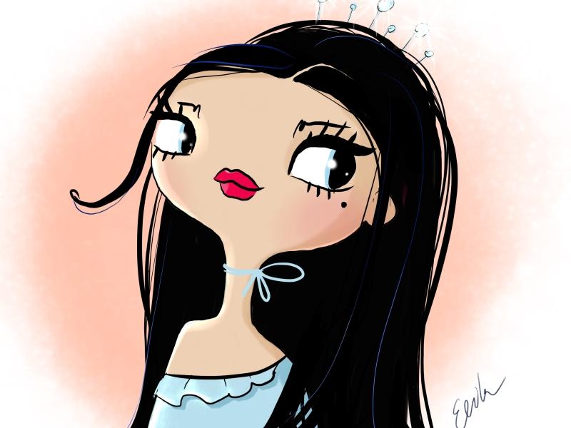 Dollcloud doll illustration