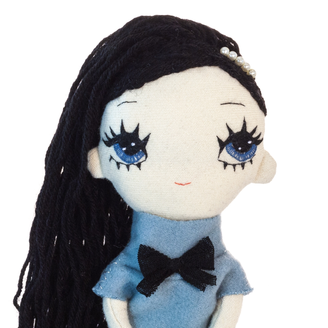 Dollcloud small soft doll bluebell