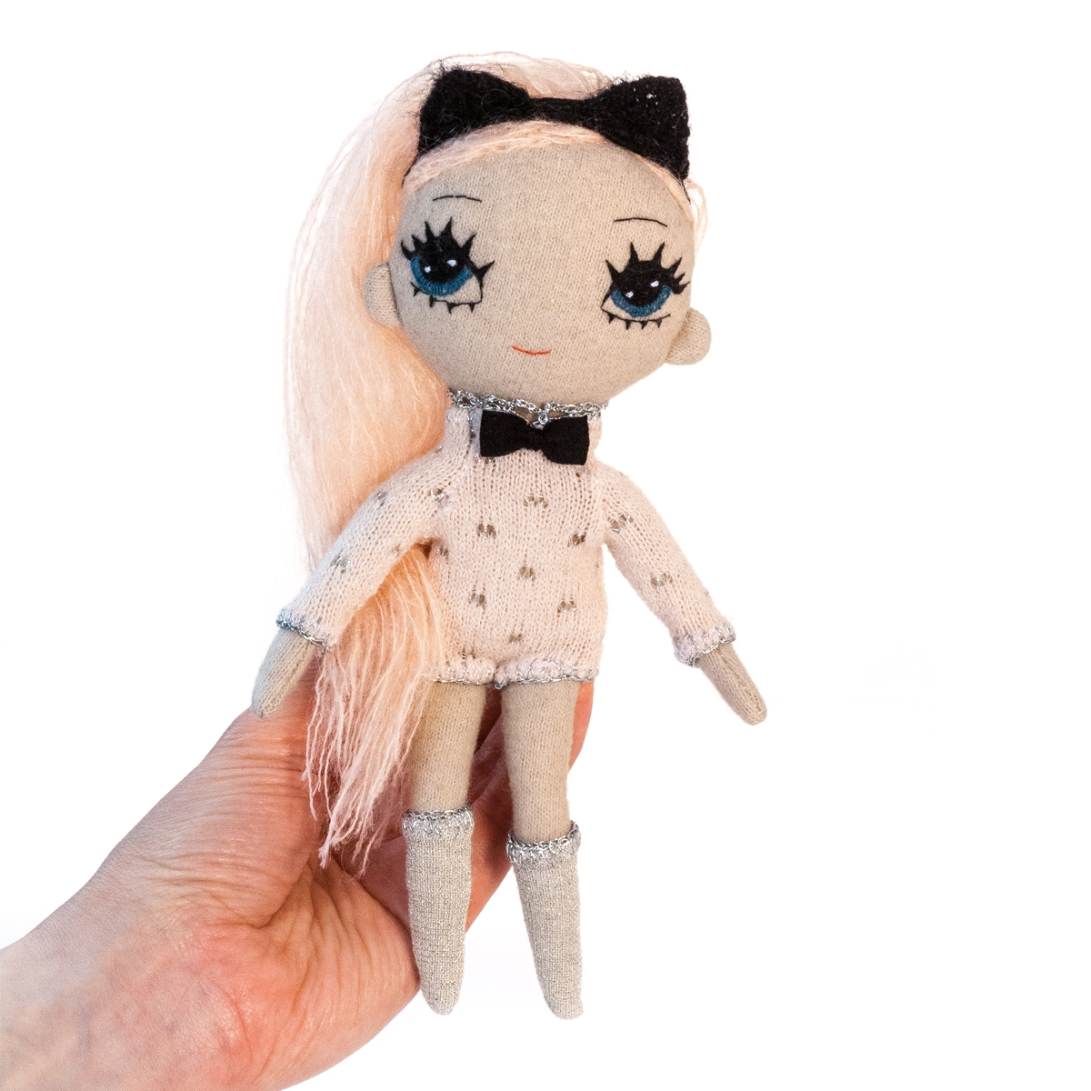 Kitty soft cloth doll by dollcloud