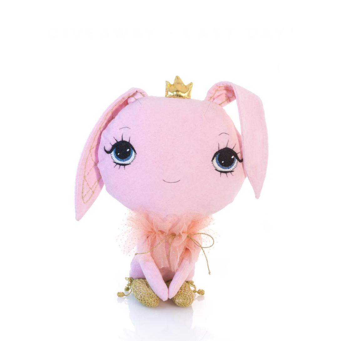 Dollcloud 2017 pink and gold spring bunny giveaway doll
