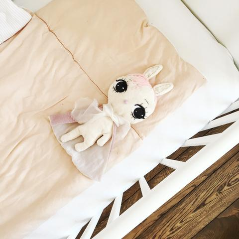 Dollcloud super bunny baby comfort blanket photo nursery decor
