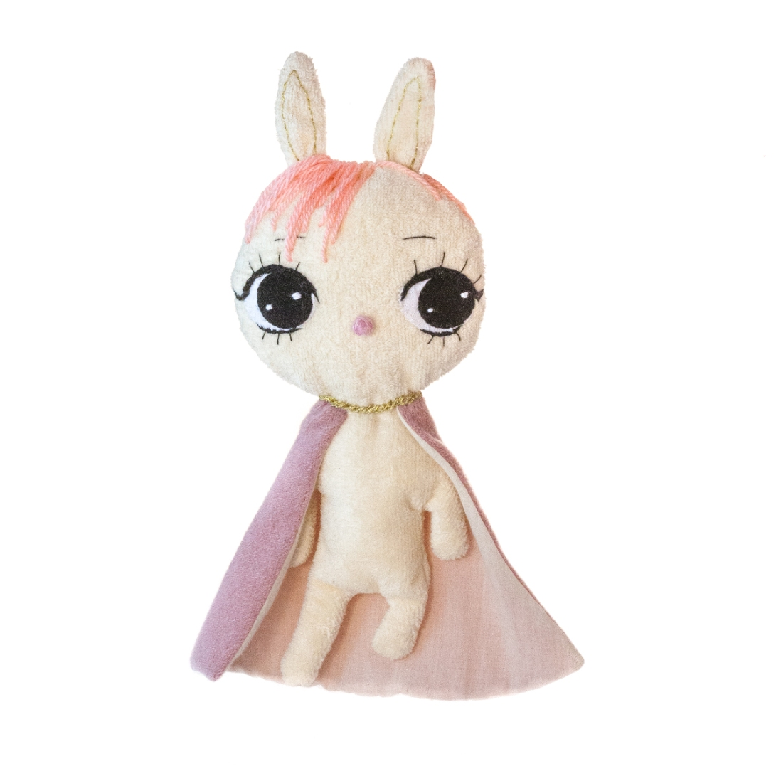 Dollcloud-superhero-bunny-baby-comforter-toy
