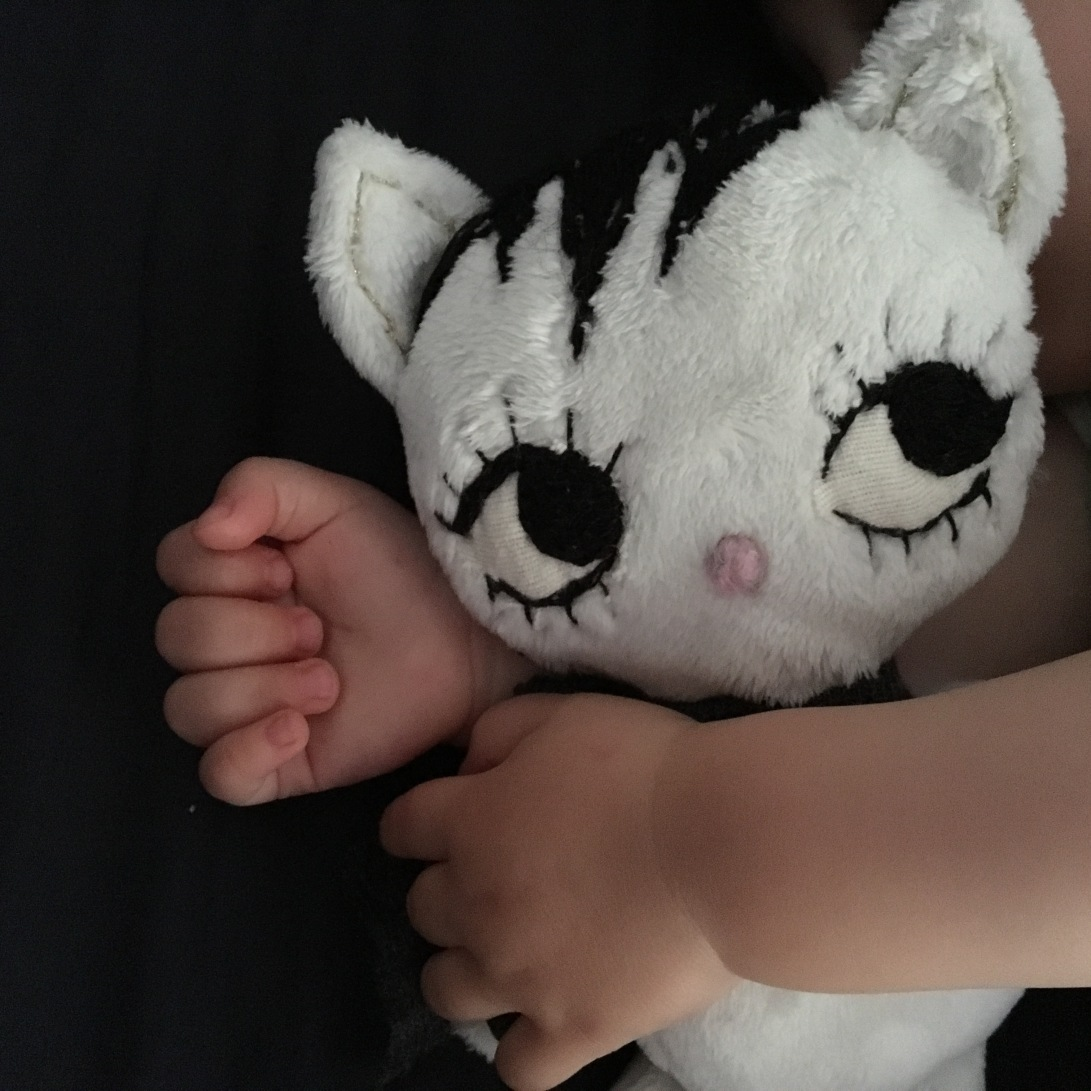 Dollcloud White Cute Baby Kitty doll