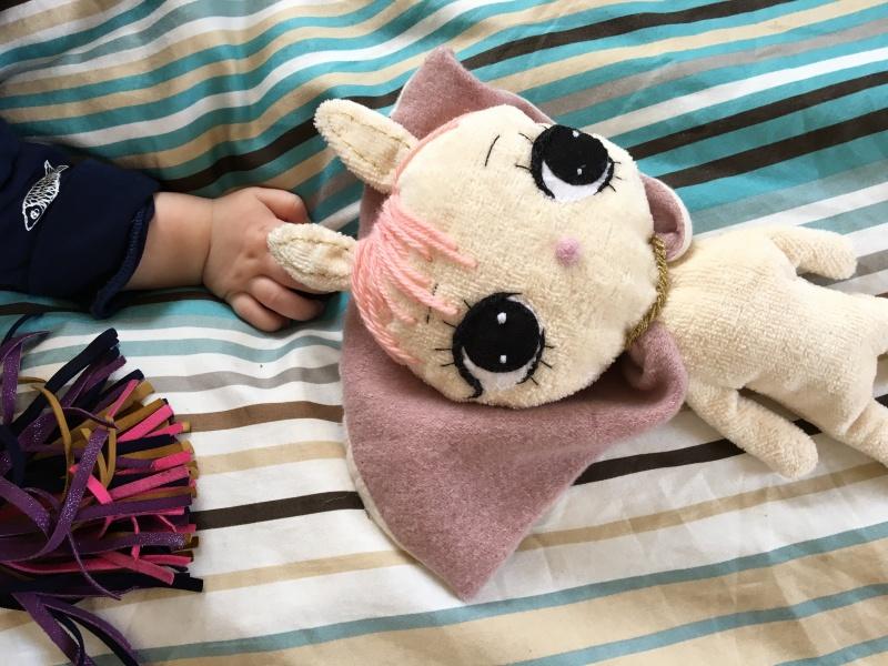Dollcloud-superhero-bunny-baby-comforter-toy