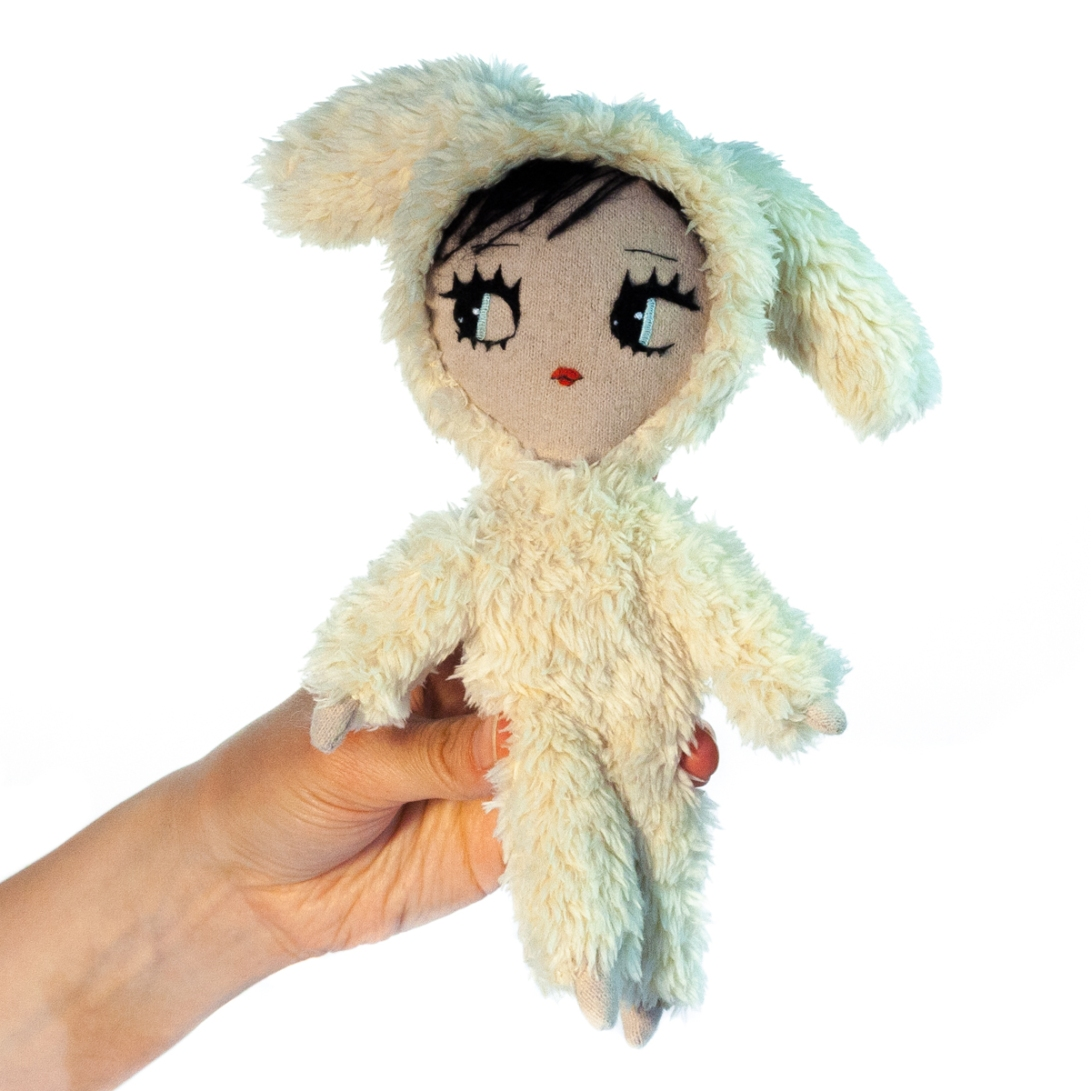 Wooly The Rabbit-Dollcloud-doll