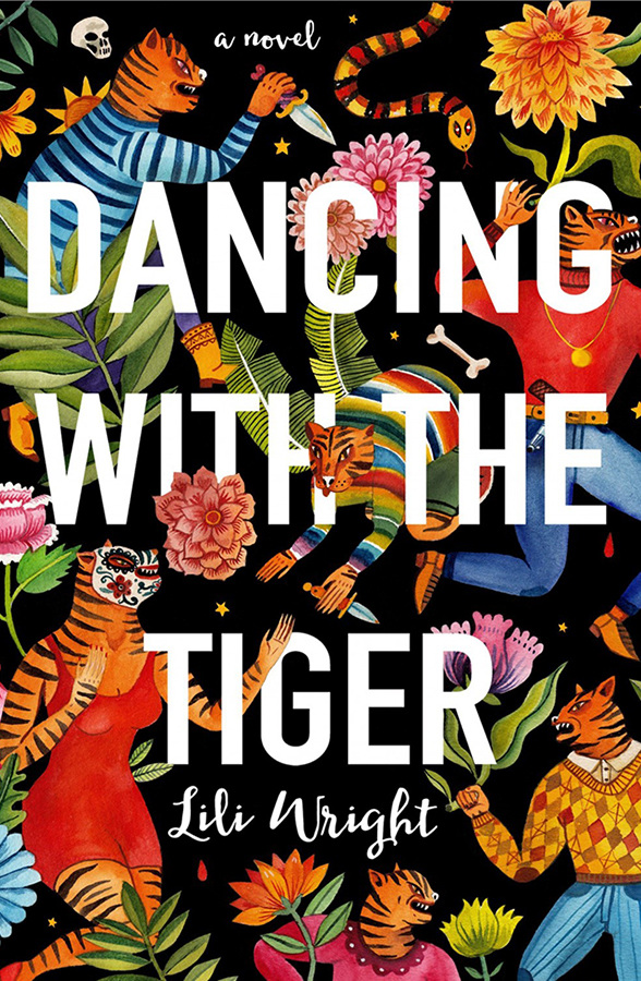 Dollcloud blog Book Covers Lili Wright, Dancing with the Tiger, design by Aitch.jpg