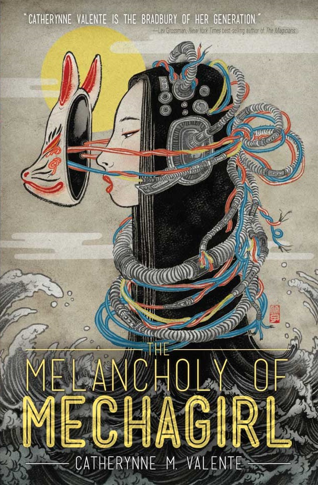Dollcloud blog Book Covers The Melancholy of Mechagirl, Catherynne M. Valente, art by Yuko Shimizu_.jpg