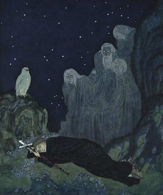 Dreamer of Dreams, written by Marie, Queen Marie of Romania, illustrated by Edmund Dulac