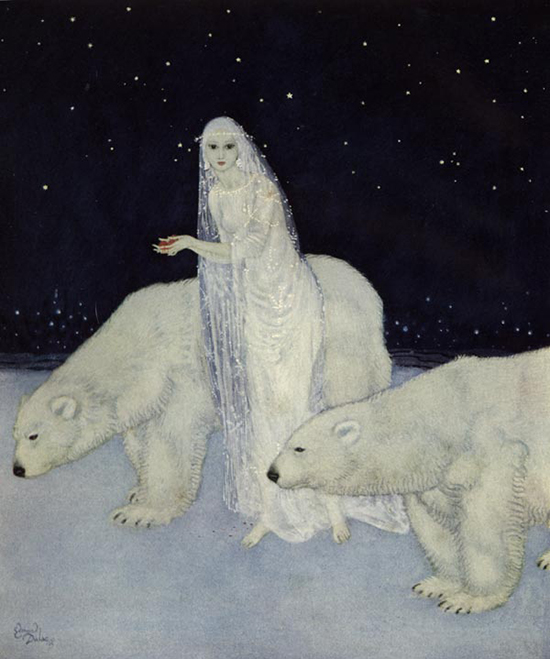 Dreamer of Dreams, written by the Queen Marie of Romania, illustrated by Edmund Dulac