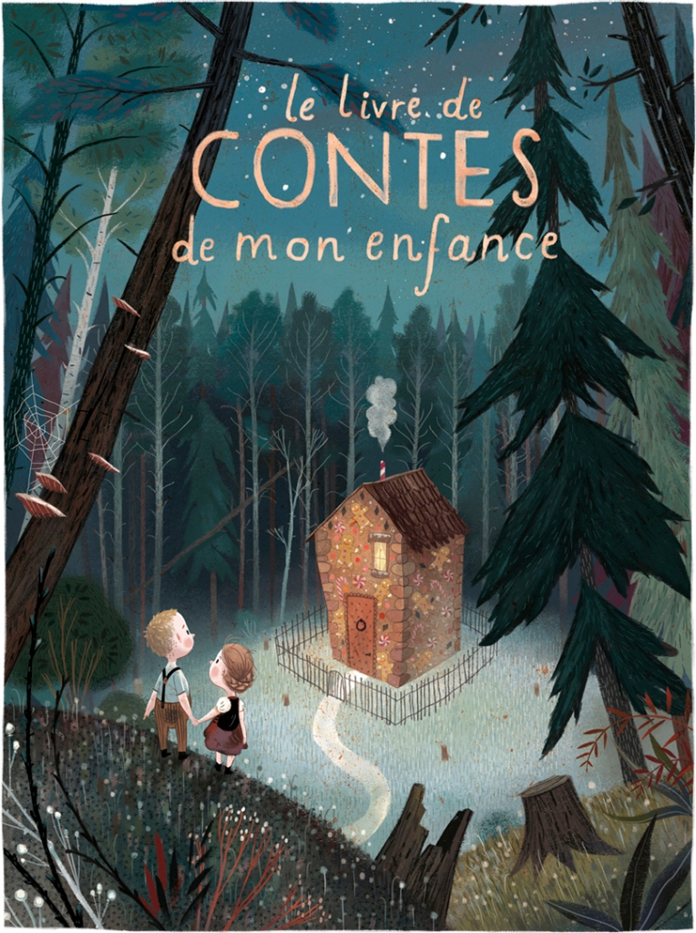 Book Cover of Le livre de Contes de mon enfance (The Book of my Childhood Tales)