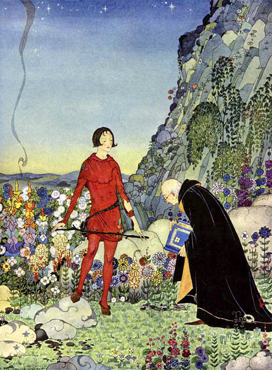 Old French Fairy Tales, written by Comtesse De Segur, illustrated by Virginia Frances Sterrett