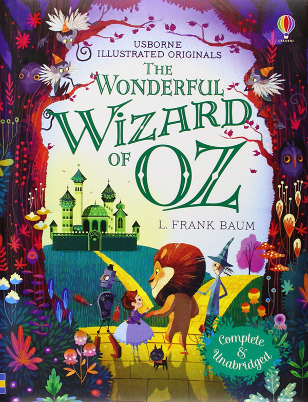 Wizard of Oz Lorena Alvarez Book Cover