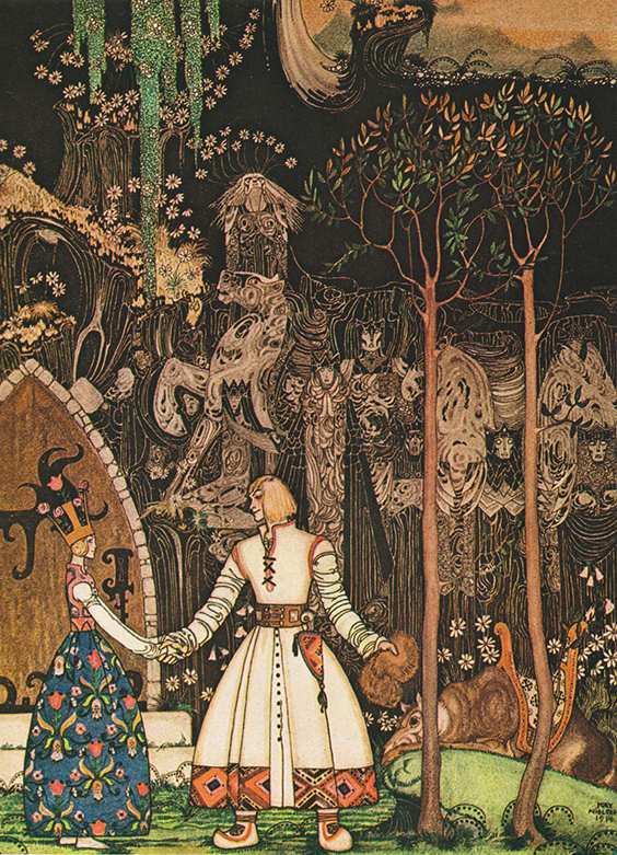 East of the Sun and West of the Moon: Old Tales From the North, illustrated by Kay Nielsen